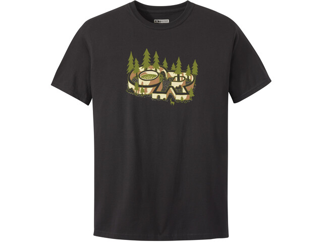 Outdoor Research Tree Fort T-shirt Homme, black